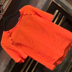 Primark Uber cute blouse orange in color